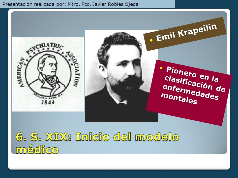 Emil Krapeilin Emil Krapeilin Pionero en la clasificación de enfermedades mentales Pionero en la clasificación de enfermedades mentales Presentación r