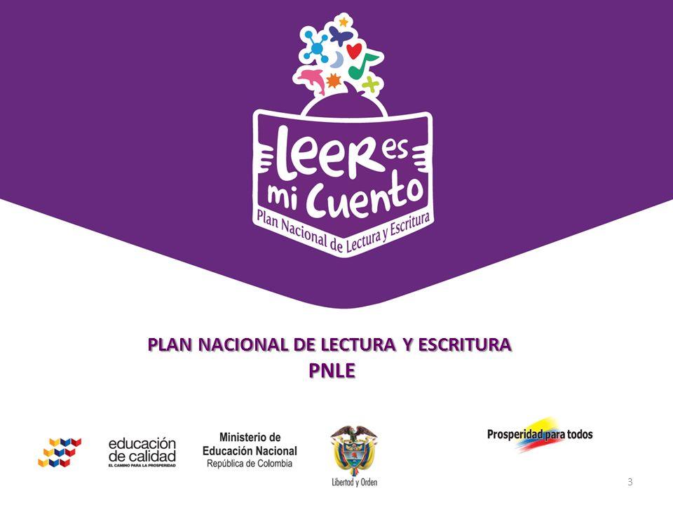 Estrategia de comunicación digital y de redes sociales PLAN NACIONAL DE LECTURA Y ESCRITURA PNLE PNLE 3