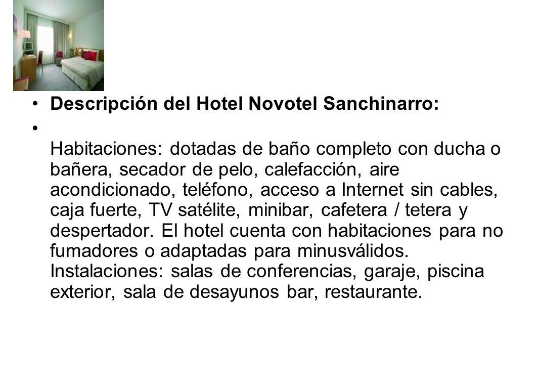 Que instalaciones tiene un hotel? Pensión completa /media Habitación doble/ individual Cama de matrimonio Número de noches Terrazza baño / ducha Nombr