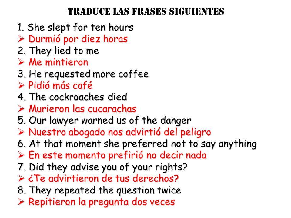 stem verbs: Those that take a Y in the 3 rd person singular and plural (él/ ella & ellos/ellas) Leer = to read Leíleímos Leisteleísteis leyóleyeron Oí