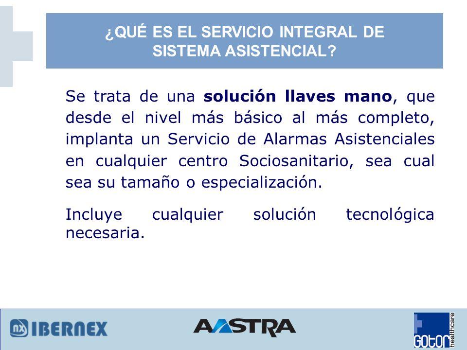 Solución básica para un servicio adecuado en un Centro Sociosanitario.
