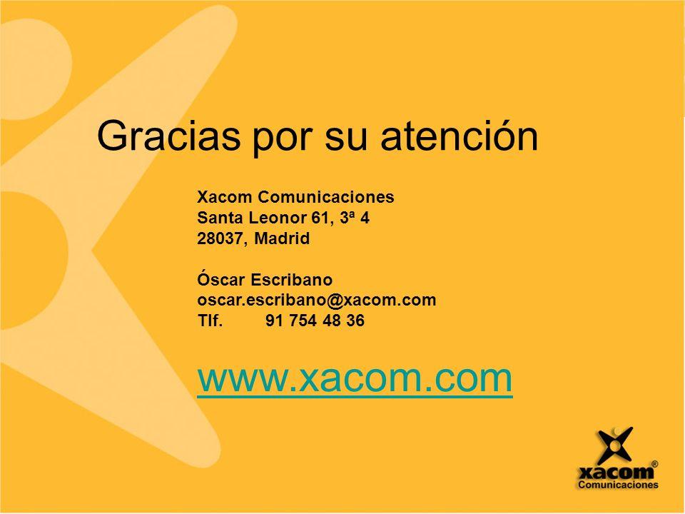 www.2n.cz Xacom Comunicaciones Santa Leonor 61, 3ª 4 28037, Madrid Óscar Escribano oscar.escribano@xacom.com Tlf.