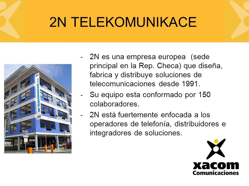 -2N es una empresa europea (sede principal en la Rep.