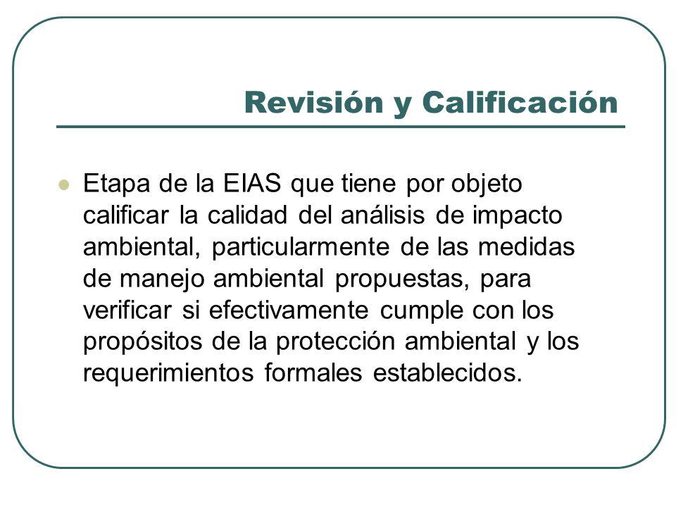 Revisión y Calificación Calificación del estudio calificación parcial, calificación global y calificación final