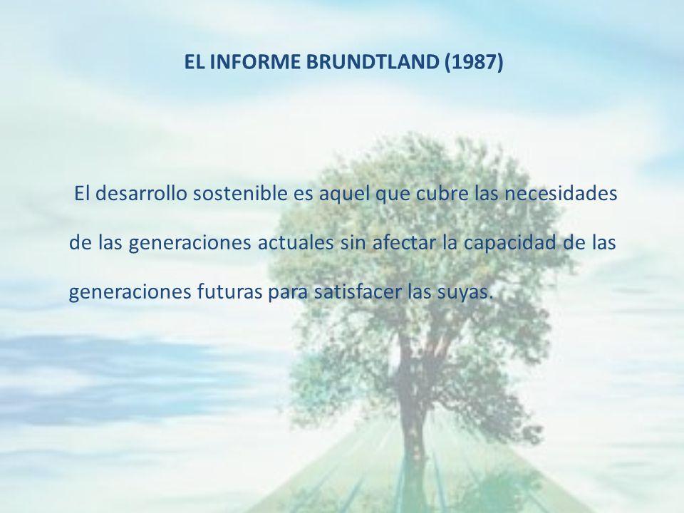 El desarrollo sostenible es aquel que cubre las necesidades de las generaciones actuales sin afectar la capacidad de las generaciones futuras para satisfacer las suyas.