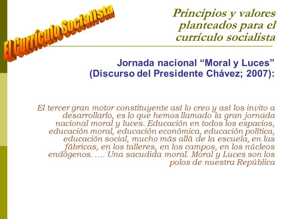 sagarciap@yahoo.es sagarcia@cantv.net Otros Trabajos: Principios políticos e ideológicos para el currículo socialista La Formación Socialista en Valores La Legitimidad del currículo Socialista La formación por competencias: un reduccionismo educativo del capitalismo