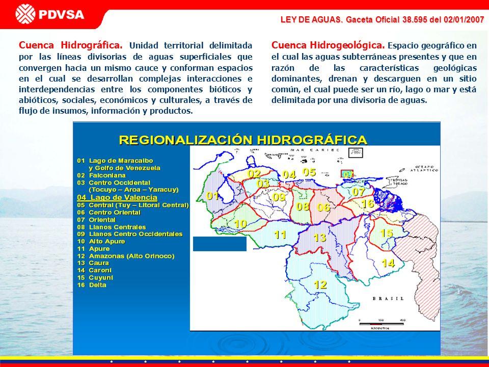 Cuenca Hidrográfica. Unidad territorial delimitada por las líneas divisorias de aguas superficiales que convergen hacia un mismo cauce y conforman esp