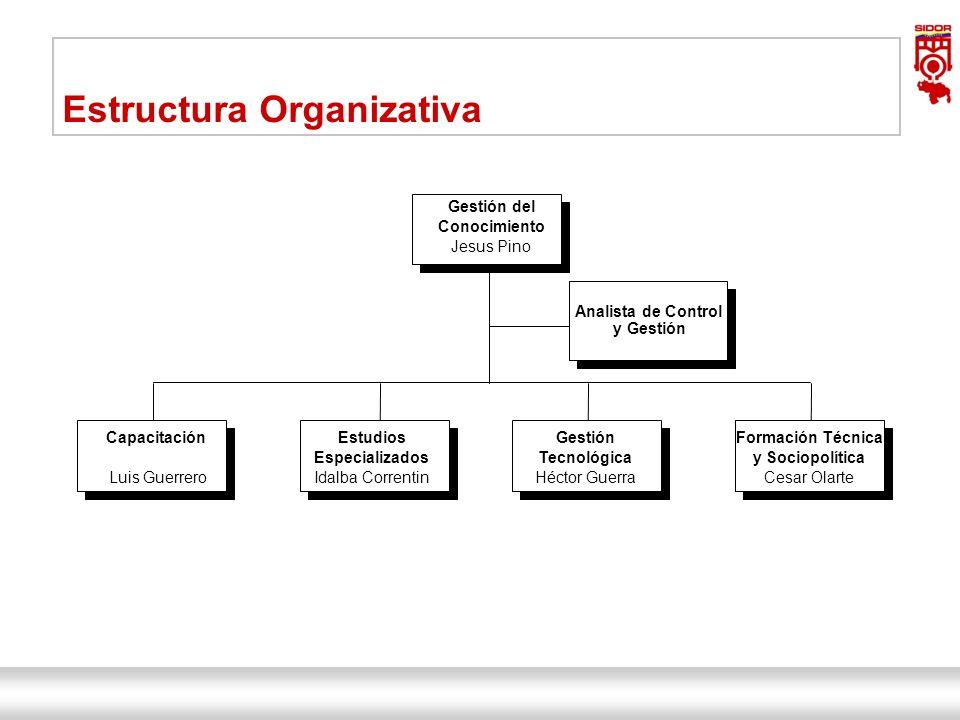 Instituto de Investigaciones Metalúrgicas y de Materiales Siderúrgica del Orinoco Alfredo Maneiro| Dirección Ejecutiva 12 Gestión del Conocimiento Jes