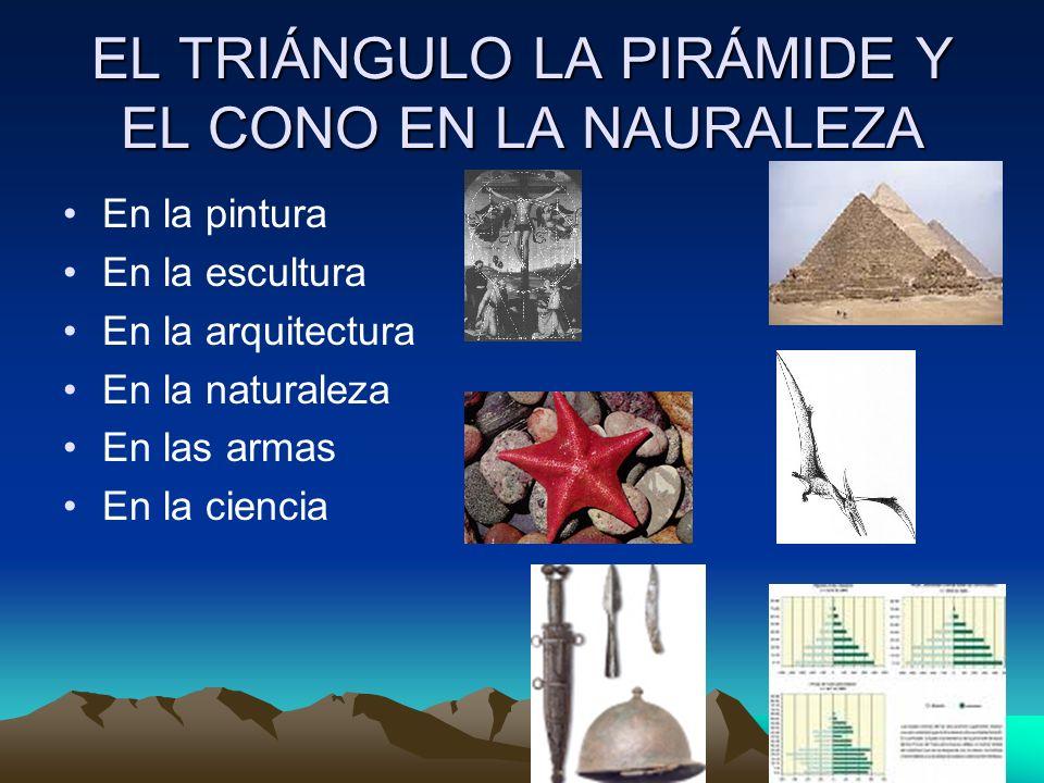 Los cuadriláteros, el cubo y los prismas en la naturaleza En la pintura En la escultura En la arquitectura En la naturaleza En la ciencia En la sociedad