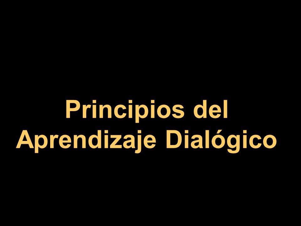 Principios del Aprendizaje Dialógico