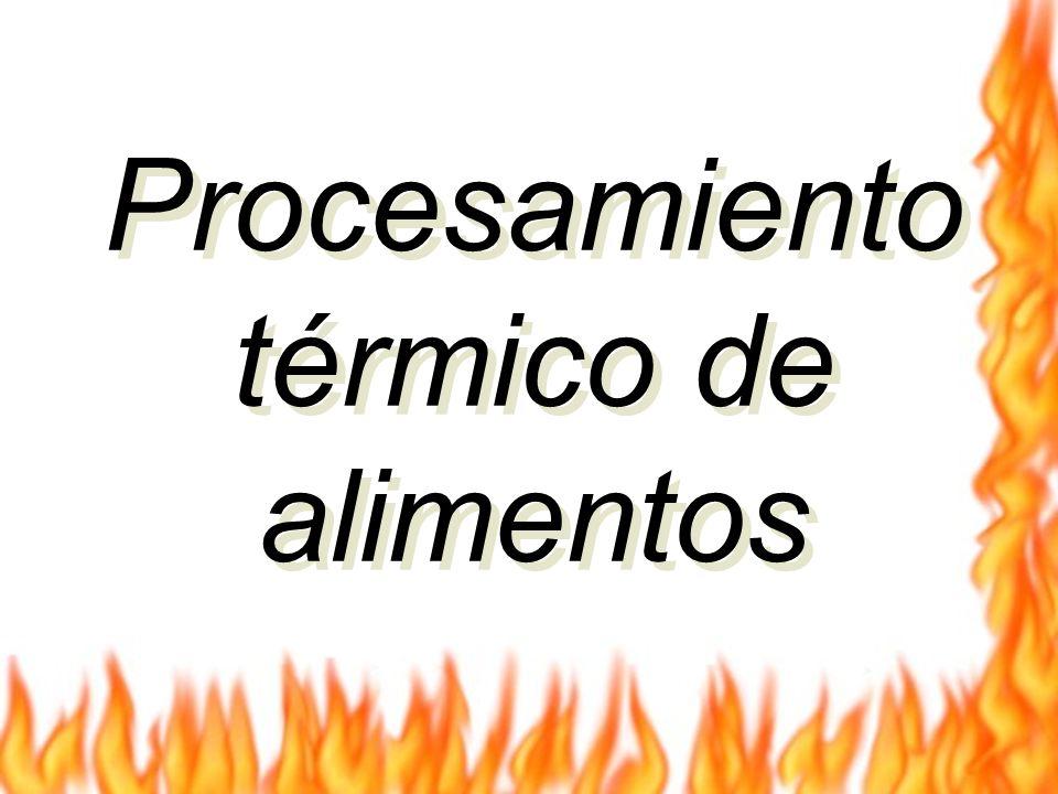 Procesamiento térmico de alimentos