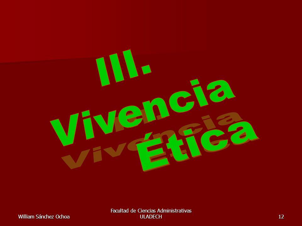William Sánchez Ochoa Facultad de Ciencias Administrativas ULADECH12
