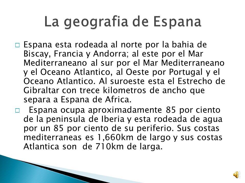 El clima varia en Espana devido a su gran tomano.