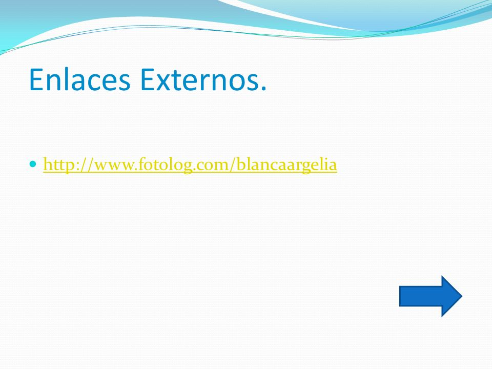 Enlaces Externos. http://www.fotolog.com/blancaargelia