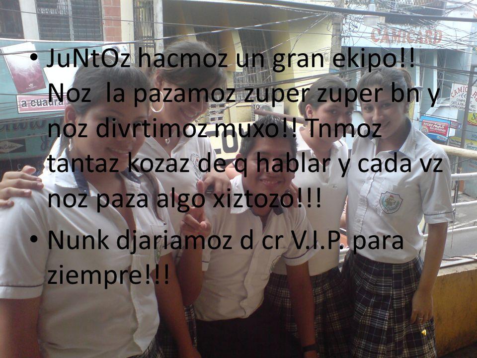 RuDyYy!°!°!° ZOI UNA PERSONA ZUPER DIVERTIDA, MOLEZTON, Y DE AMBIENTE AUNQUE AVCZ MOLEZTO HAZTA QUE HAGO Q C ENOGN MIZ VIP KON MIGO!!.
