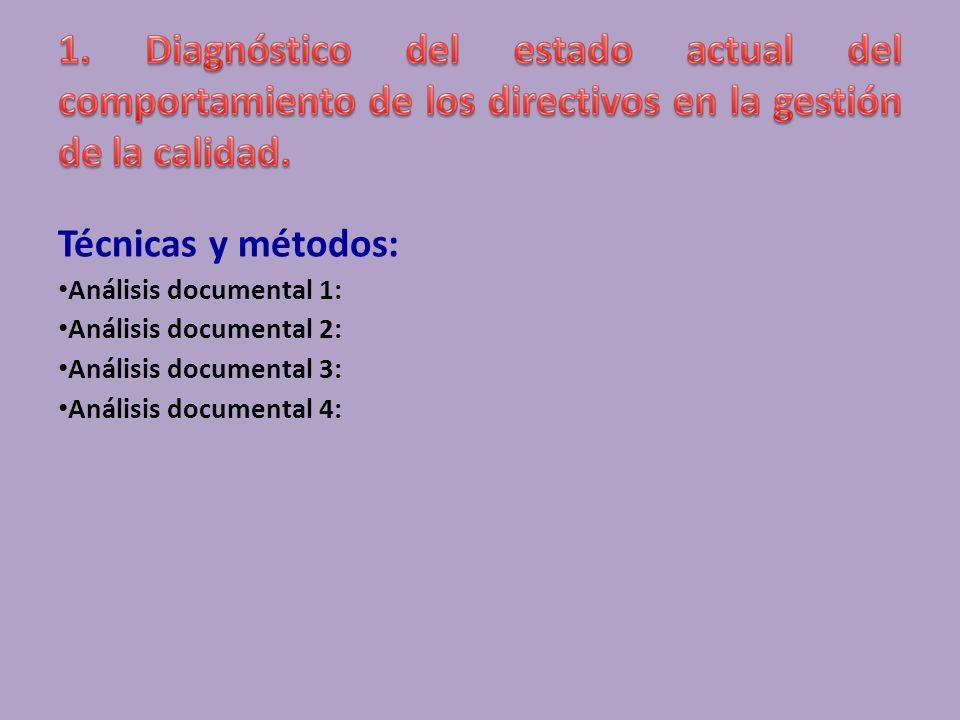 Objetivo: Indicadores: Técnicas y métodos: Encuesta 3: Ej.