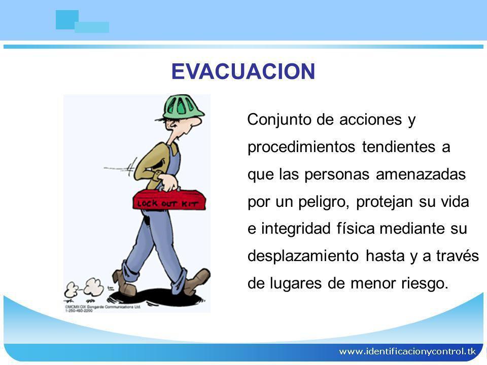 COMPONENTES CRITICOS DE LAS SALIDAS DE EVACUACION Pasillos Escaleras Rampas Puertas de evacuación Sitios de reunión Iluminación Señalización Planos de evacuación