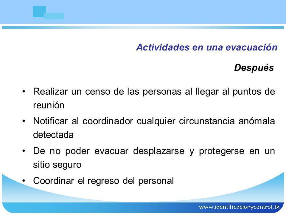 PRIORIDADES EN EMERGENCIA Evacuacion Rescate Activar ayudas Control ofensivo Control defensivo Lo peligroso Lo importante Lo costoso 1.PERSONAS 2.EMERGENCIA 3.BIENES