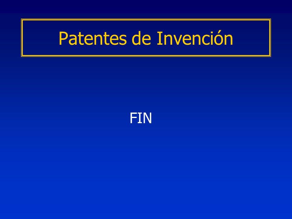 FIN Patentes de Invención