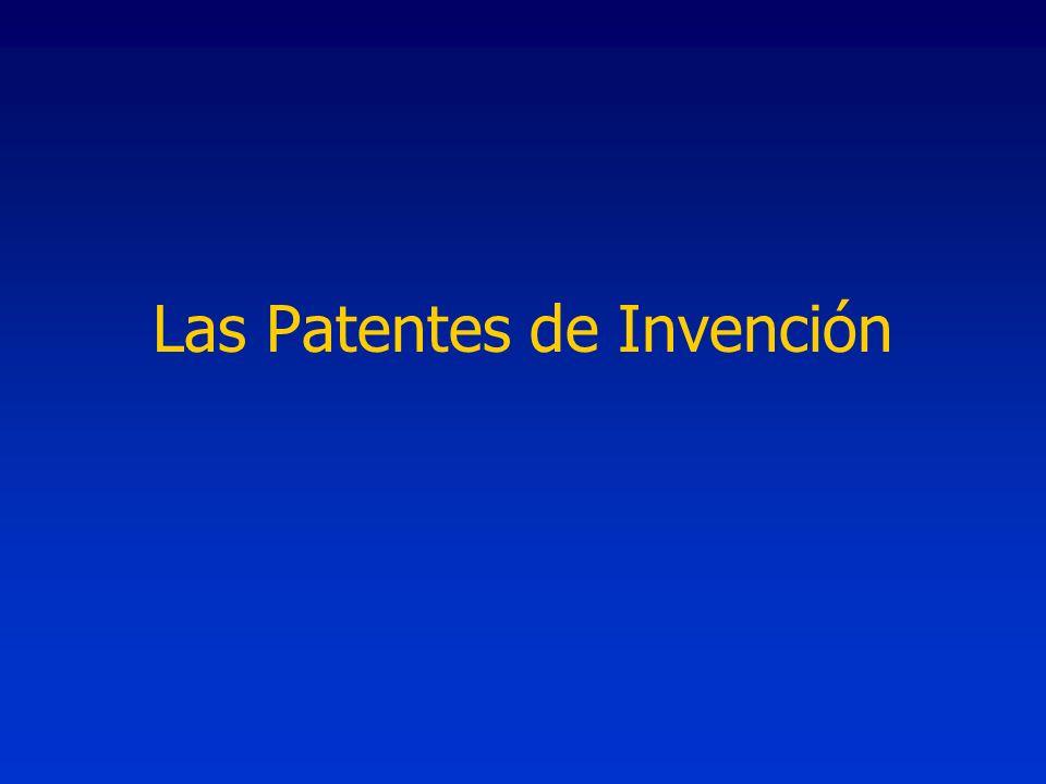 Las Patentes de Invención