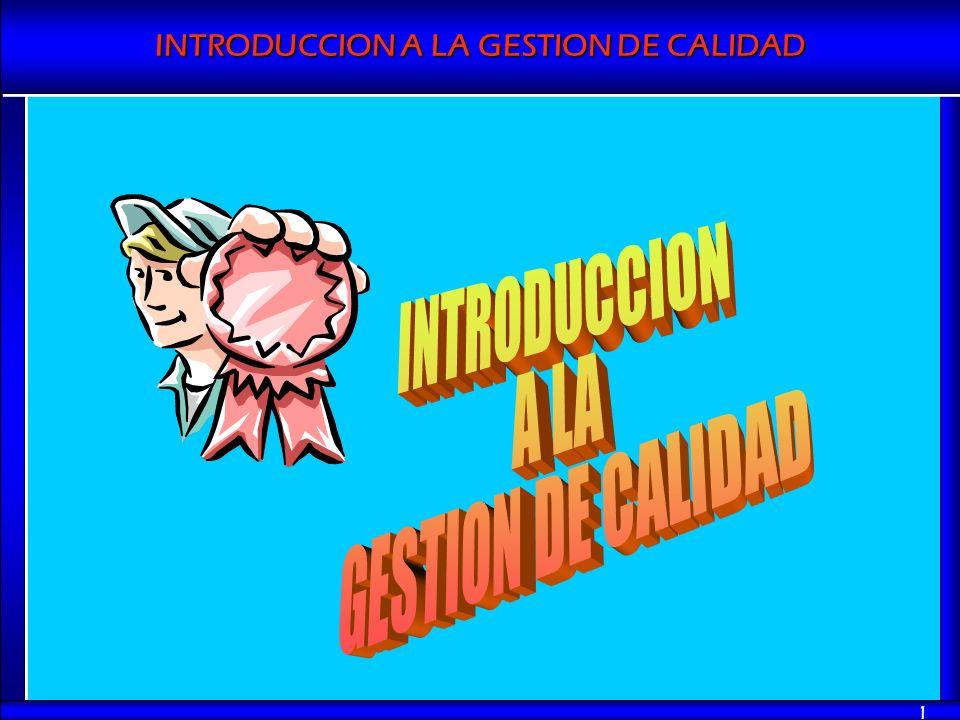 INTRODUCCION A LA GESTION DE CALIDAD 1