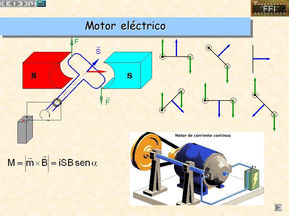 Presentación por José Quiles Hoyo Motor eléctrico