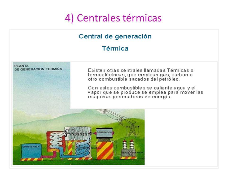 4) Centrales térmicas