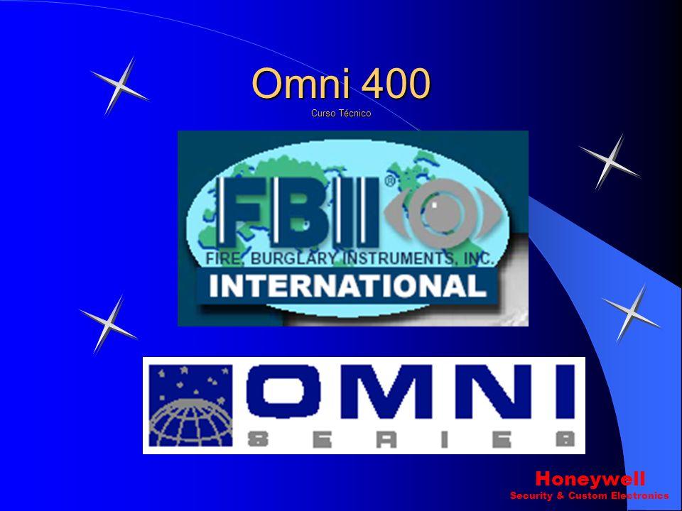 Omni 400 Curso Técnico Honeywell Security & Custom Electronics