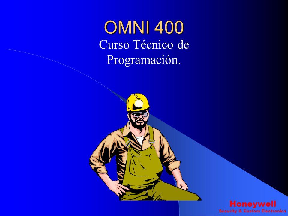 OMNI 400 Curso Técnico de Programación. Honeywell Security & Custom Electronics