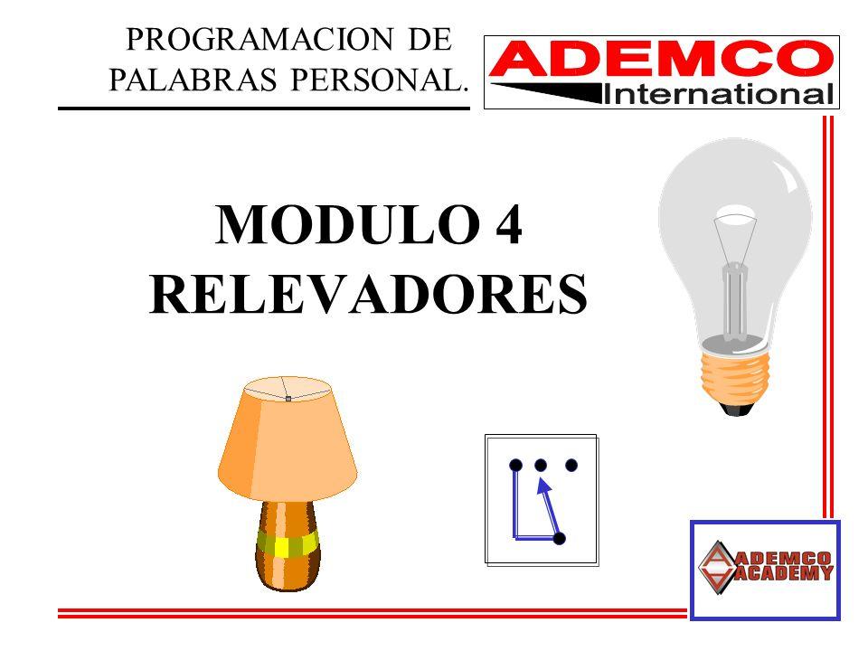 MODULO 4 RELEVADORES PROGRAMACION DE PALABRAS PERSONAL.