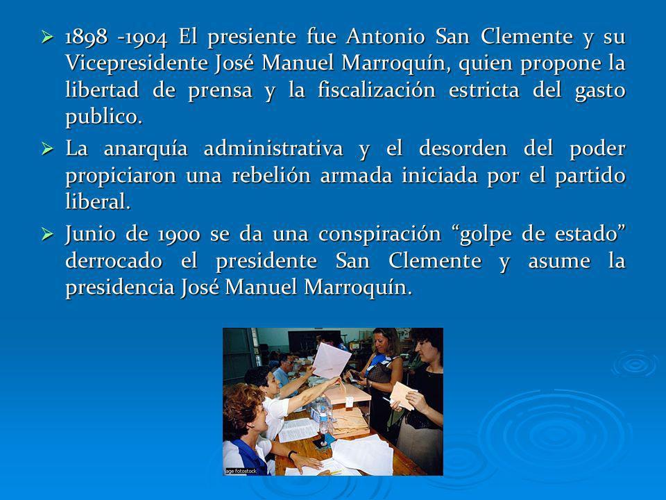 SEPARACION DE PANAMA 1870 Colombia firma con estados unidos un trato para la construcción del canal por Panamá.