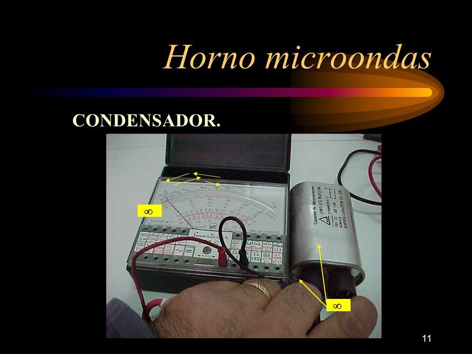 11 Horno microondas CONDENSADOR.