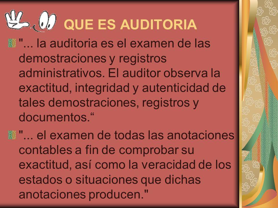 Objetivo El objetivo de la Auditoria consiste en apoyar a los miembros de la empresa en el desempeño de sus actividades.
