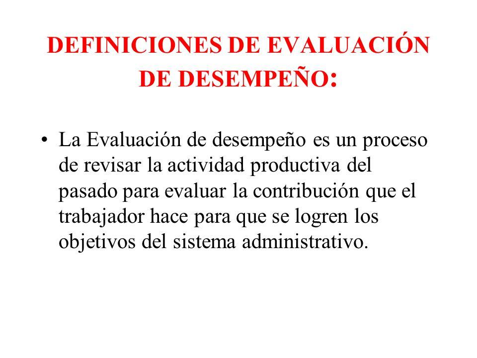 PREGUNTAS FUNDAMENTALES EN LA EVALUACIÓN DE DESEMPEÑO 1.