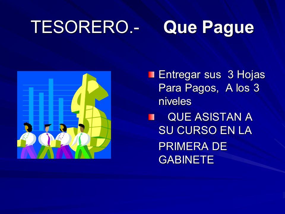 IMPORTANTISIMO FORZAR ENTREGA RECEPCION DE FUNCIONARIOS JEFES DE REGIONCOMO HERMANOS PARA JEFES DE ZONAUN BIEN COMUN PRESIDENTESCLUBES EN FORMACION SECRETARIOSENTREGA DE PAPELERIA TESOREROSPENDIENTES ASESORESFECHAS, DE PROGRAMAS