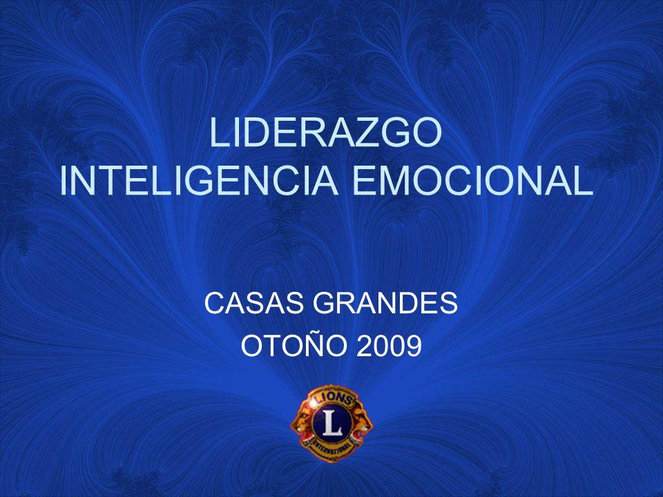LIDERAZGO INTELIGENCIA EMOCIONAL CASAS GRANDES OTOÑO 2009