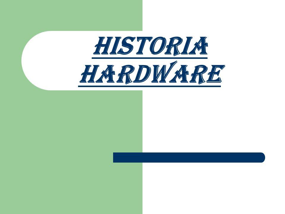 HISTORIA La clasificación evolutiva del hardware esta dividida en generaciones donde cada generación es una evolución a el mismo.