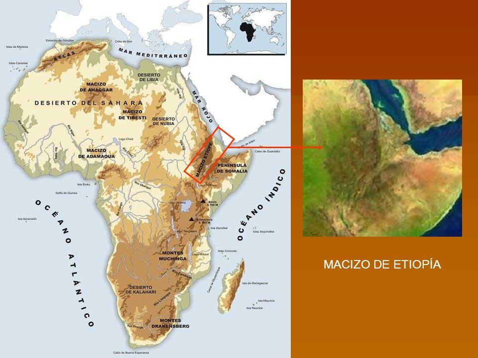 MACIZO DE ETIOPÍA