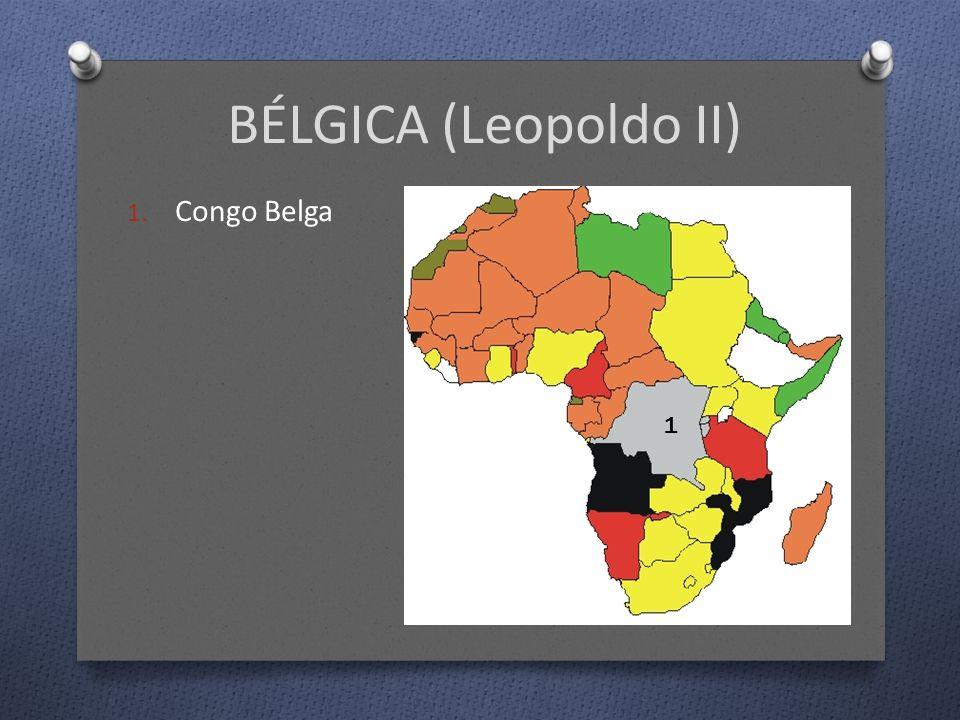 BÉLGICA (Leopoldo II) 1. Congo Belga 1