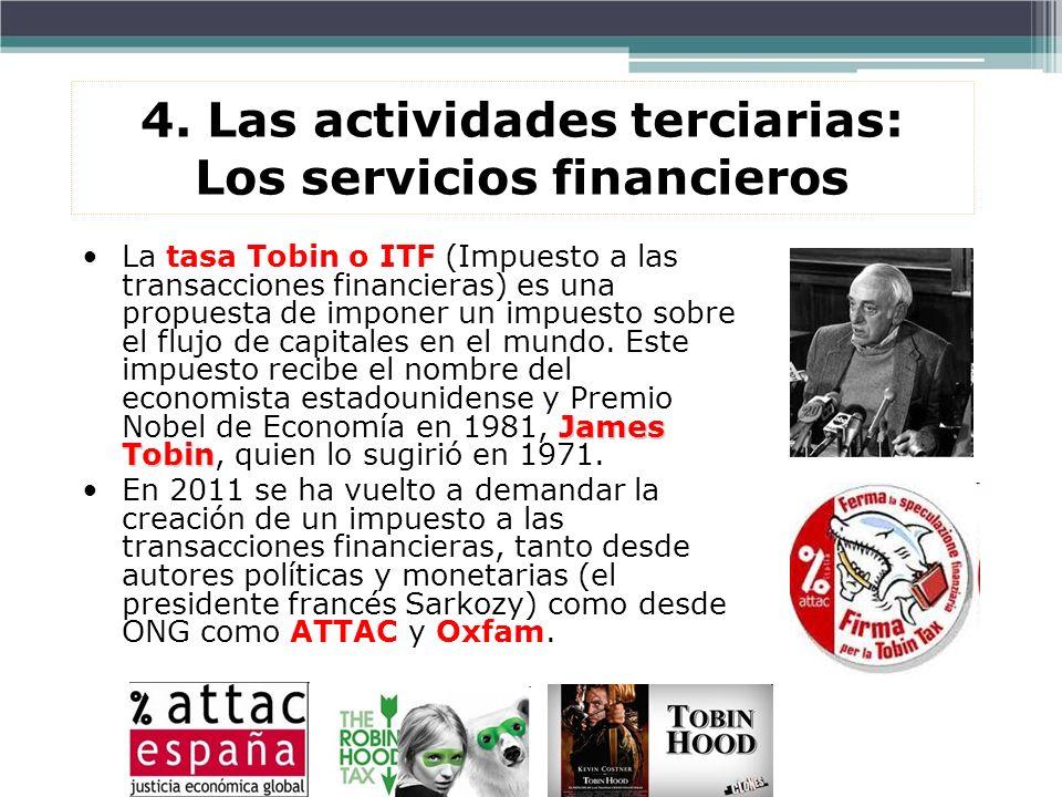 James TobinLa tasa Tobin o ITF (Impuesto a las transacciones financieras) es una propuesta de imponer un impuesto sobre el flujo de capitales en el mu