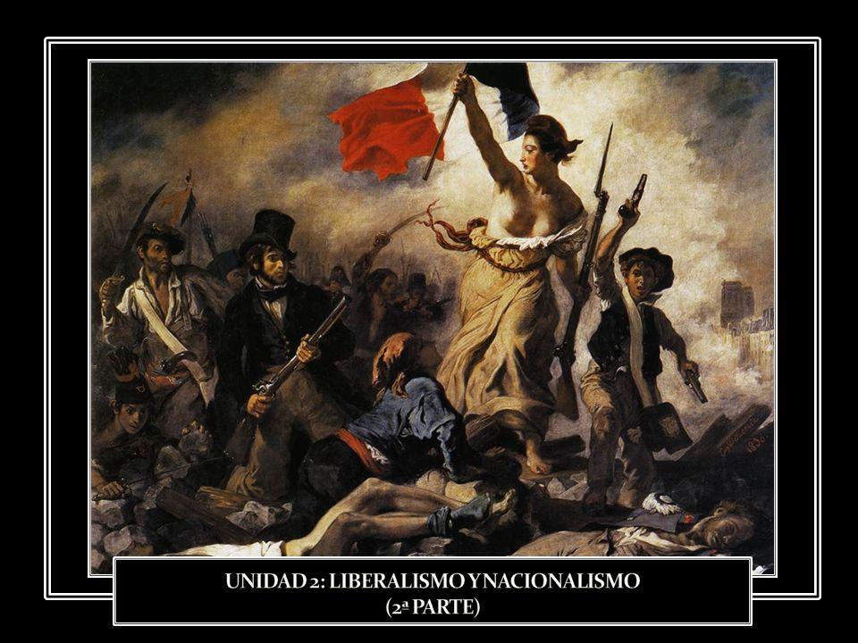 A pesar de los intentos de los monarcas absolutos por restaurar el Antiguo Régimen, éste entró en una profunda crisis a consecuencia de la expansión de las ideas y valores de la Revolución Francesa.