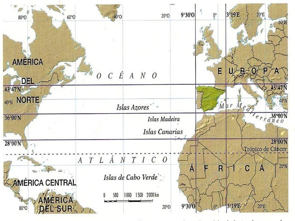 Zona intermedia: Altas presiones subtropicales y bajas presiones asociadas al Frente Polar