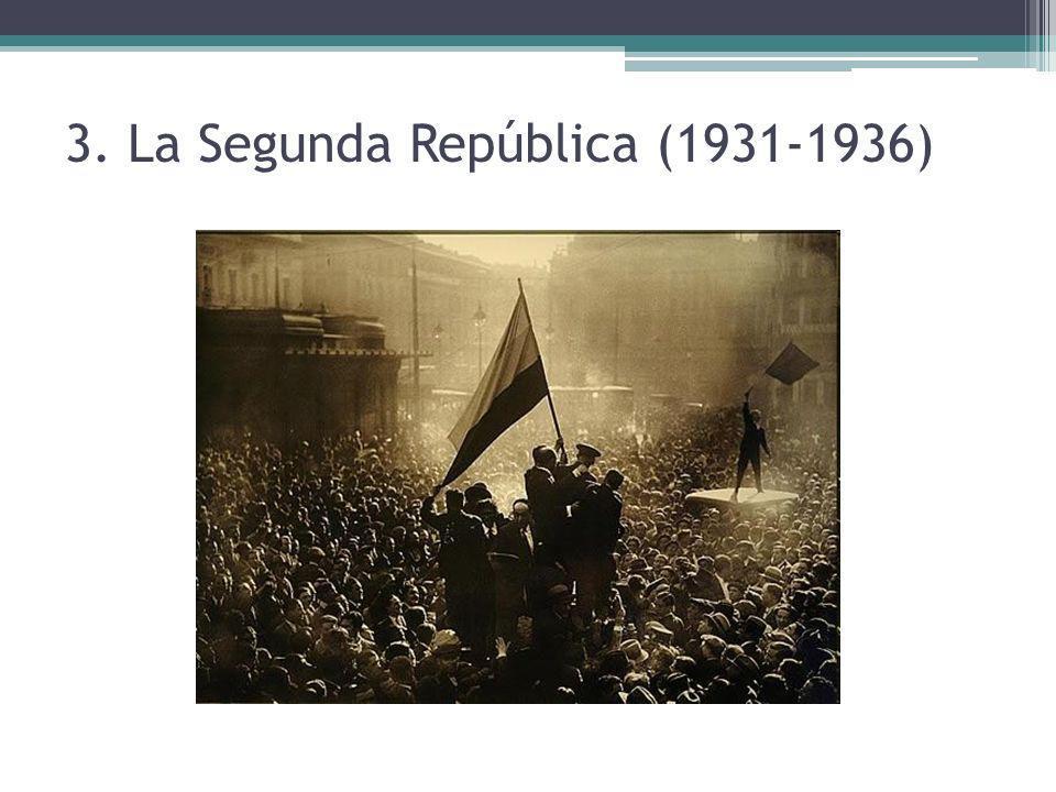 3. La Segunda República (1931-1936)