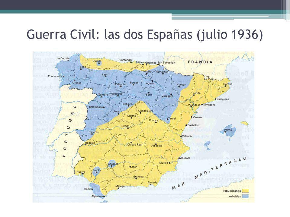 Guerra Civil: las dos Españas (julio 1936)