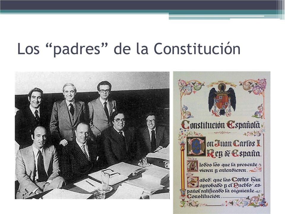 Los padres de la Constitución