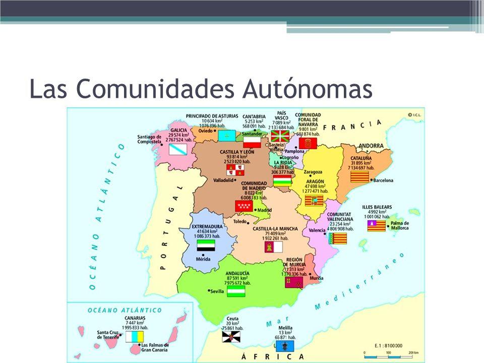 Las Comunidades Autónomas