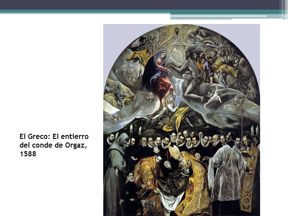 El Greco El Greco: El entierro del conde de Orgaz, 1588