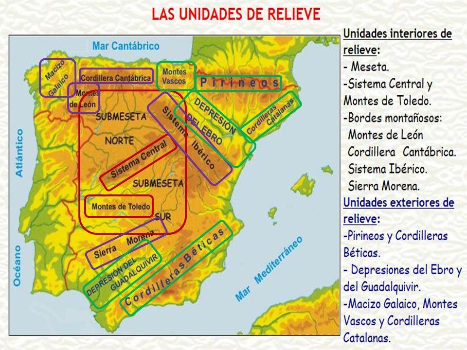 5. LA SITUACIÓN DE ESPAÑA EN EUROPA ELEVADA ALTITUD MEDIA: 660 m. 2º PAÍS MÁS ALTO DE EUROPA MUCHA SUPERFICIE: 505.000 KM² 4º PAÍS MÁS EXTENSO DE EURO