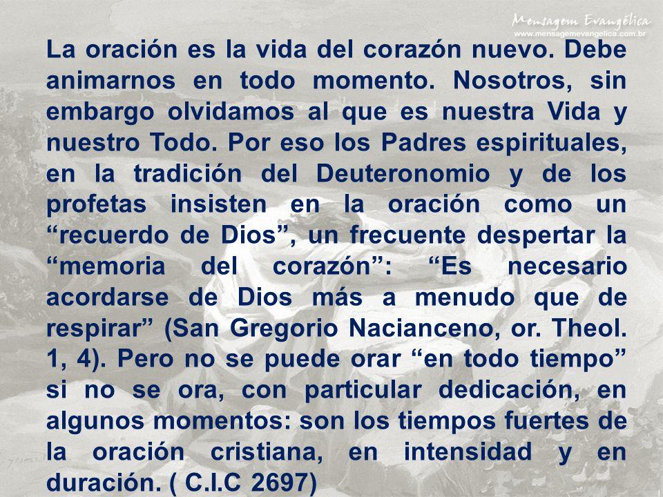 Celebrar la Fe: La liturgia es también participación en la oración de Cristo, dirigida al Padre en el Espíritu Santo.