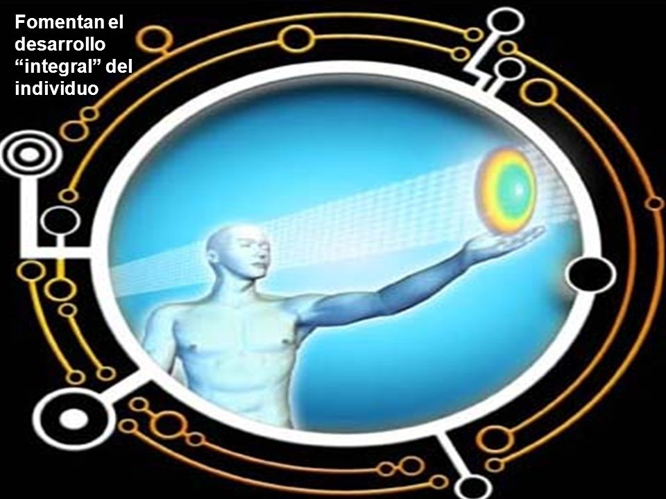 Fomentan el desarrollo integral del individuo